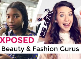 BEAUTY & FASHION GURUS EXPOSED! How Their Excessive Consumption Is Harming The World