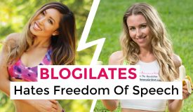 Blogilates Hates Freedom Of Speech